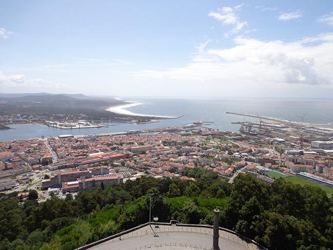 Os mais belos miradouros portugueses - Miradouro de Santa Luzia, Viana do Castelo