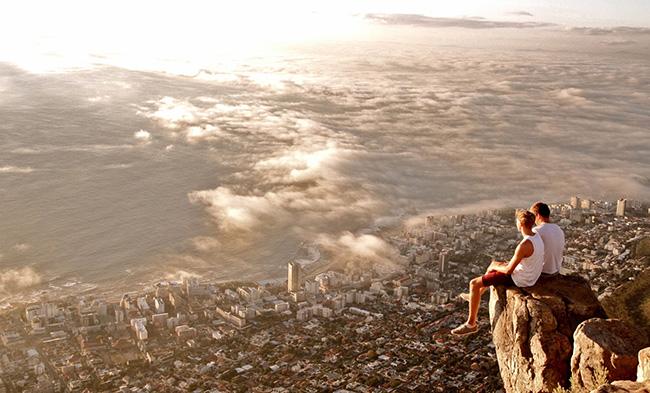 Lugares que causam vertigens - HEAD MOUNTAIN LION, CIDADE DO CABO, ÁFRICA DO SUL