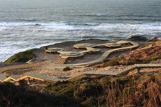 Passadiços em Portugal - Passadiço da Foz do Arelho