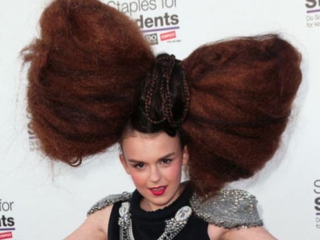 Penteados de deixar os cabelos em pé