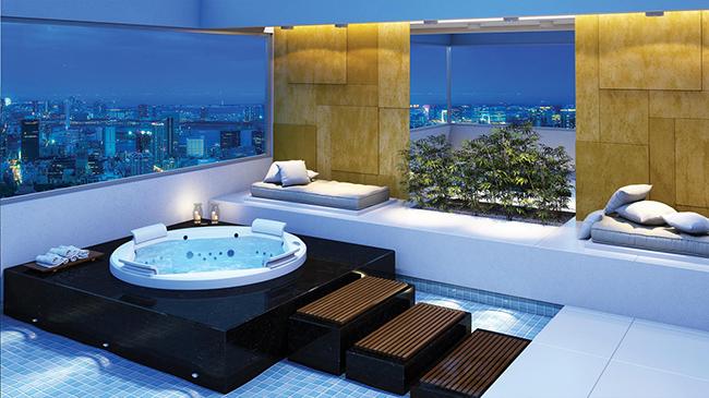 Banheiras de sonho - banheira com vista