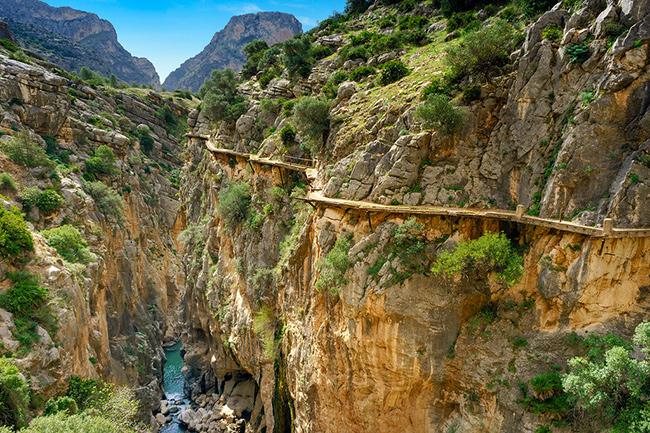 Os caminhos mais perigosos do mundo - Caminito del Rey, Espanha