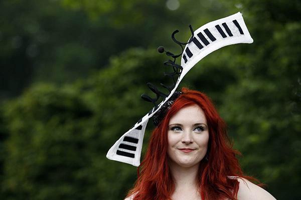 Chapéus loucamente originais - um chapéu inspirado na música