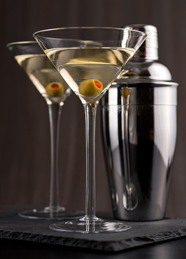 Cocktails de verão - Dry Martini