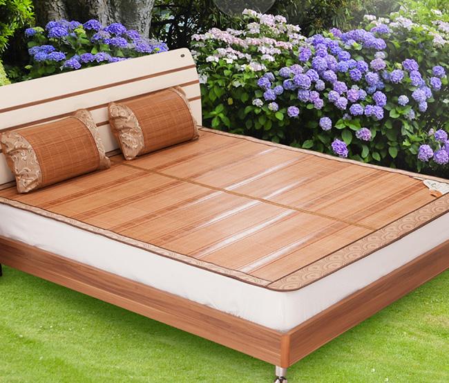 Dormir sempre fresco - durma em esteiras de palha ou bambu