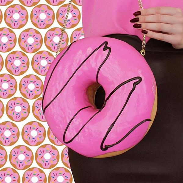 Malas loucamente criativas - mala donut