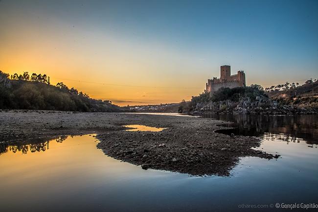Os mais fantásticos pores do sol de Portugal - Castelo de Almorol