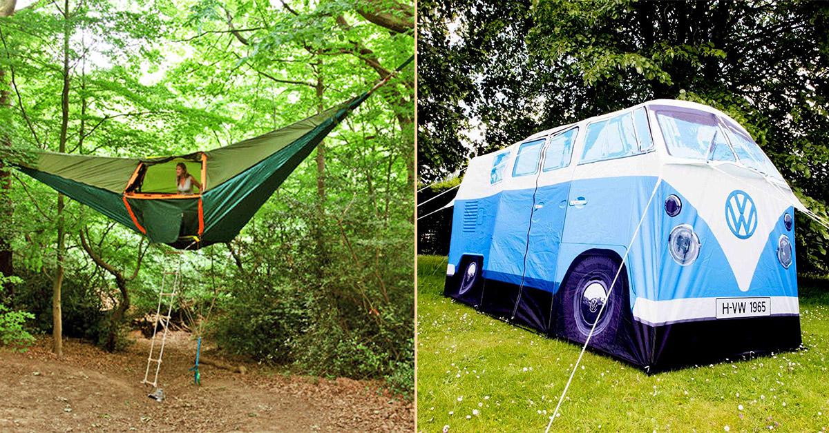 7 tendas fenomenais para um verão inesquecível