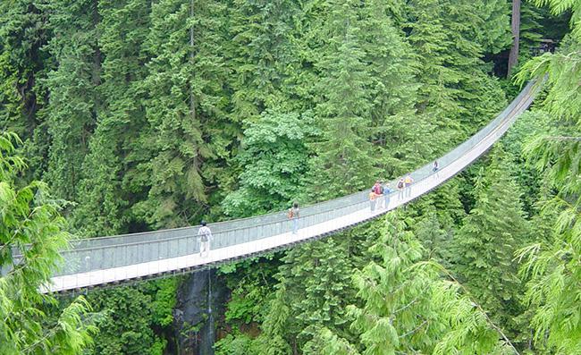 Lugares que causam vertigens - CLIFF WALK, VANCOUVER, CANADÁ