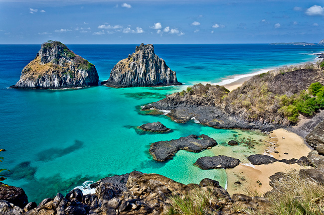 As águas mais cristalinas - 10 locais de sonho - Fernando de Noronha, Brasil
