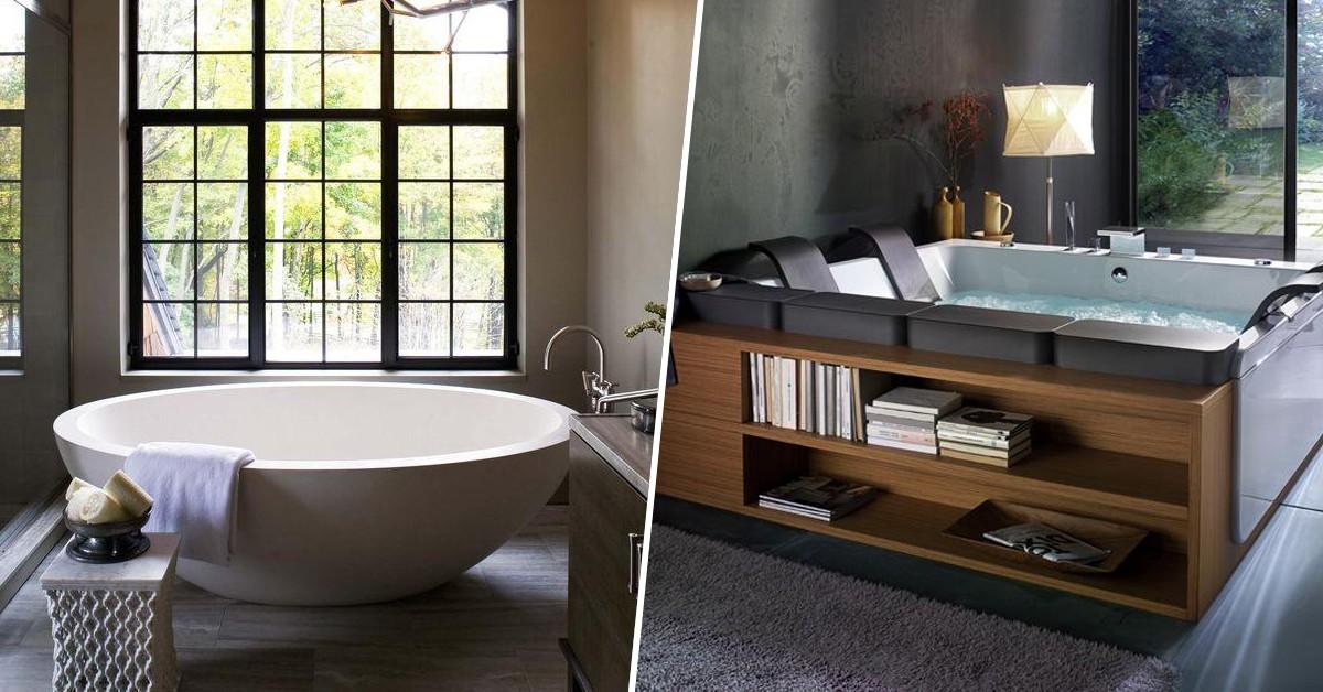 8 banheiras de sonho – Qual é a sua preferida?