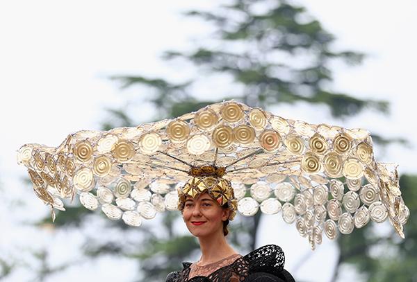 Chapéus loucamente originais - chapéu gigante