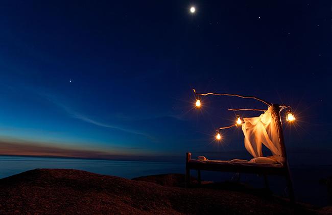 Dormir com as estrelas - NKWICHI LODGE, MOÇAMBIQUE