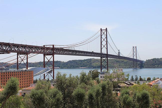 Os mais belos miradouros portugueses - Miradouro de Santo Amaro, Lisboa