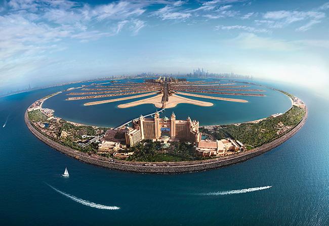 Paisagens espetaculares - Dubai