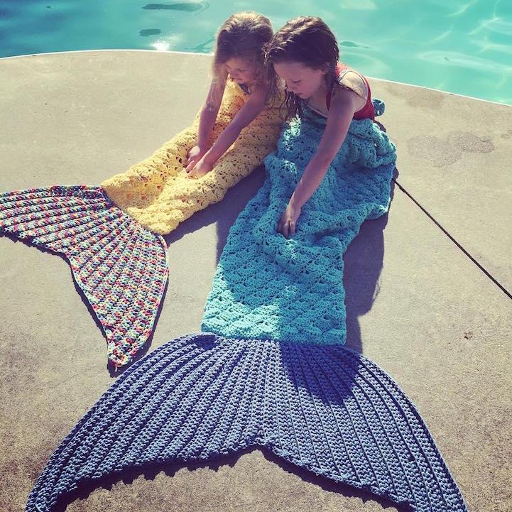 Toalhas de praia que não passam despercebidas - Toalha sereia