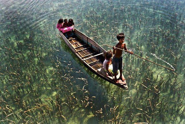As águas mais cristalinas - 10 locais de sonho - Sabá, Malásia