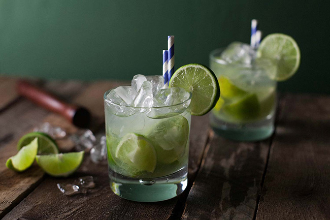 Cocktails de verão - Caipirinha