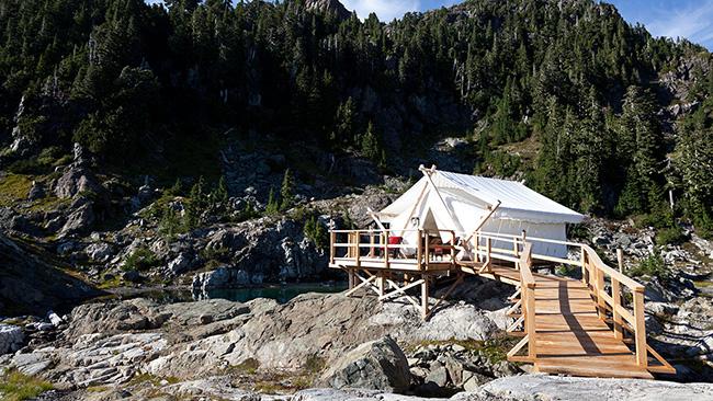 Dormir com as estrelas - CLAYOQUOT CAMP, VANCOUVER, CANADÁ