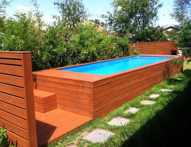 Piscinas de sonho - piscina sobre-elevada