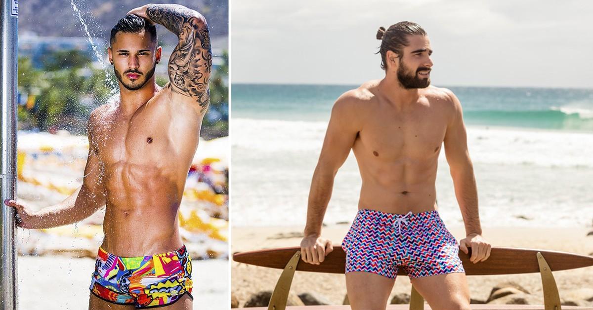 7 calções de praia que estão na moda