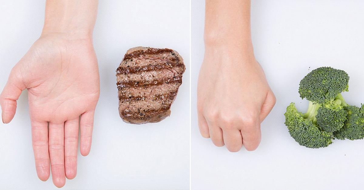Nutrição – as quantidades ideais de cada alimento