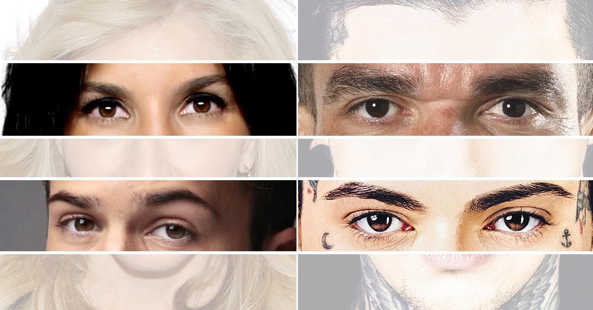 Reconhece estes famosos só pelo olhar?
