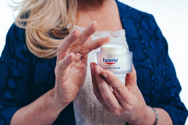 creme de dia da Eucerin da gama DermoDENSIFYER porque é o melhor para a minha pele