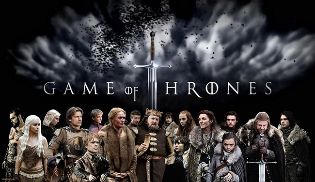 As melhores séries de televisão do mundo - A Guerra dos Tronos