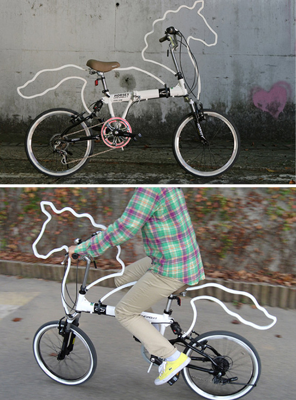 Bicicletas surpreendentes - bicicleta cavalo