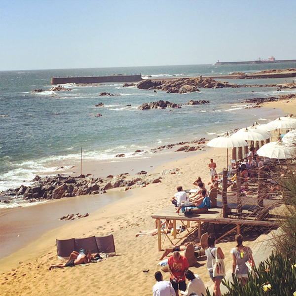 Lindas praias no norte de Portugal - Praia de Gondarém, Porto