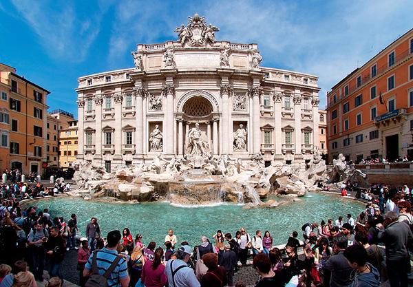 As mais belas fontes do mundo: Fonte de Trevi – Roma, Itália
