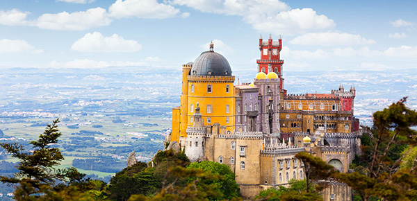 Palácios de Portugal - Pálacio da Pena, Sintra