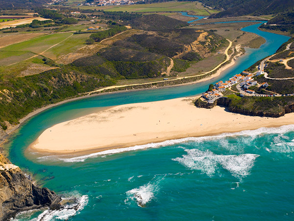 Praias do sul de Portugal - Praia de Odeceixe, Aljezur