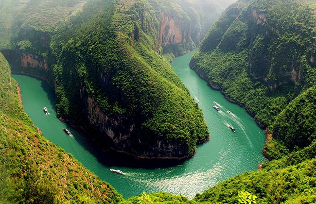 Os rios mais bonitos do mundo - Rio Yangtzé, China