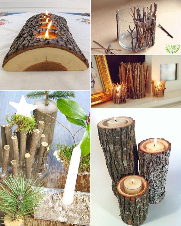 Dicas de decoração e bricolage em madeira- apontamentos de decoração