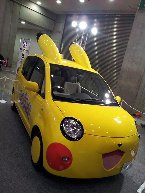 Carros completamente loucos - Carro Pikachu