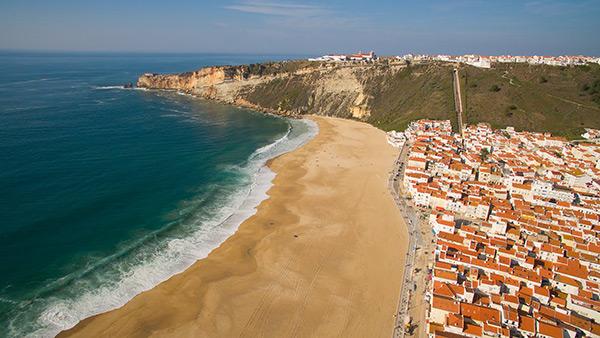 As mais belas praias de Portugal- Praia da Nazaré