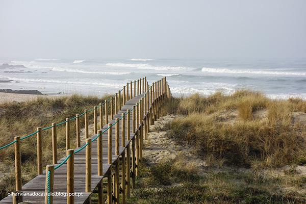 Lindas praias no norte de Portugal - Praia de Paçô, Viana do Castelo