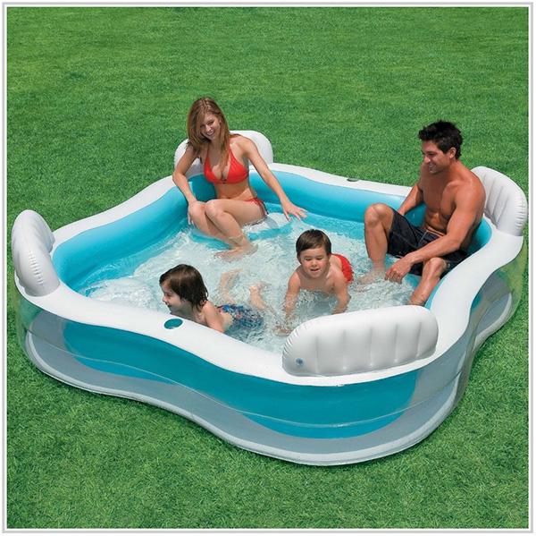Piscinas insufláveis - piscina insuflável para 4 pessoas