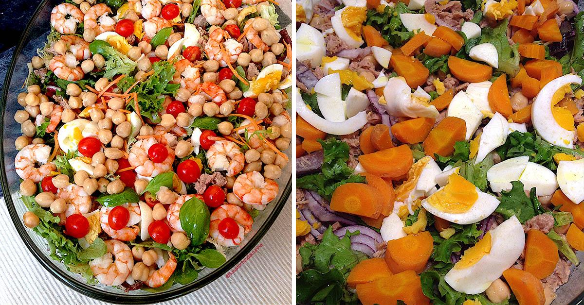 2 saladas para um verão mais apetitoso