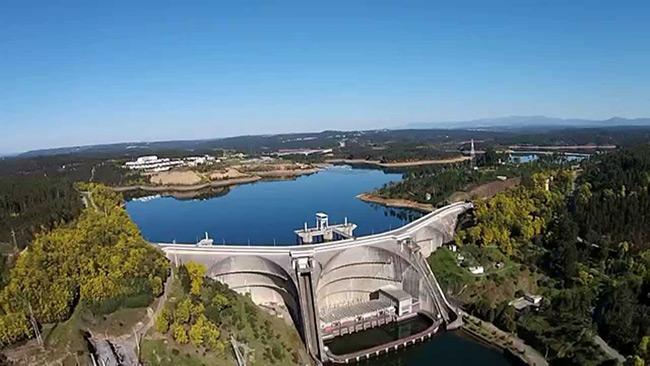 Barragens portuguesas - Barragem de Aguieira
