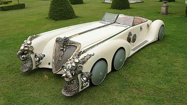 Carros completamente loucos - Carro Nautilus com 6 rodas