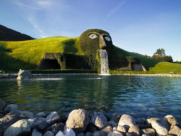 As mais belas fontes do mundo: Fonte Cabeça de cristal da Swarovski – Innsbruck, Áustria
