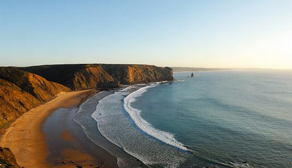 Praias do sul de Portugal - Praia da Arrifana, Aljezur