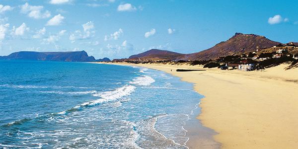 As mais belas praias de Portugal - Praia do Porto Santo, Madeira