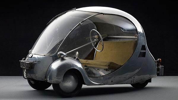 Carros completamente loucos - Carro L'oeuf 1942