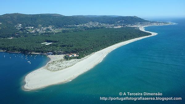 Lindas praias no norte de Portugal - Praia de Caminha, Foz do Minho