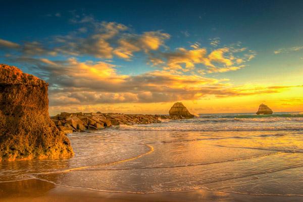 Praias do sul de Portugal - Praia da Rocha, Portimão