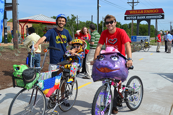 Bicicletas surpreendentes - bicicletas mascaradas